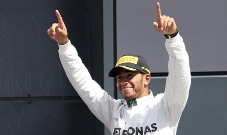 Mercedes Formula One driver Lewis Hamilton