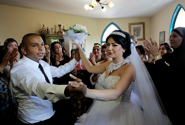 PHOTO GALLERY: Israel sees protests against a Jewish-Muslim wedding