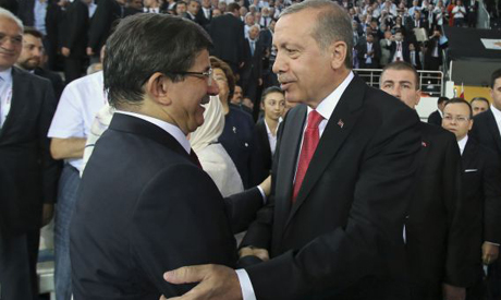 Erdogan,Davutoglu