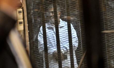 Morsi in cage