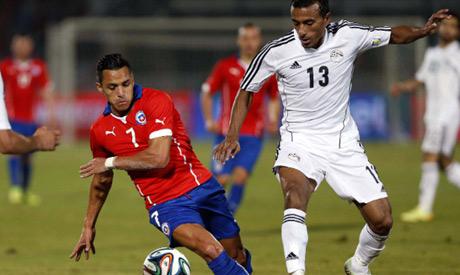 Egypt full-back Mohamed Abdel-Shafy