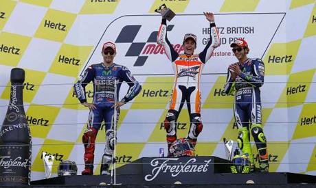 Honda MotoGP rider Marc Marquez