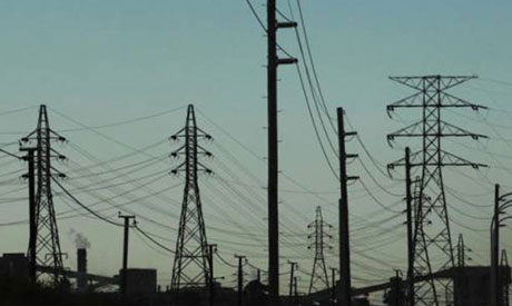 Hydro towers in Egypt