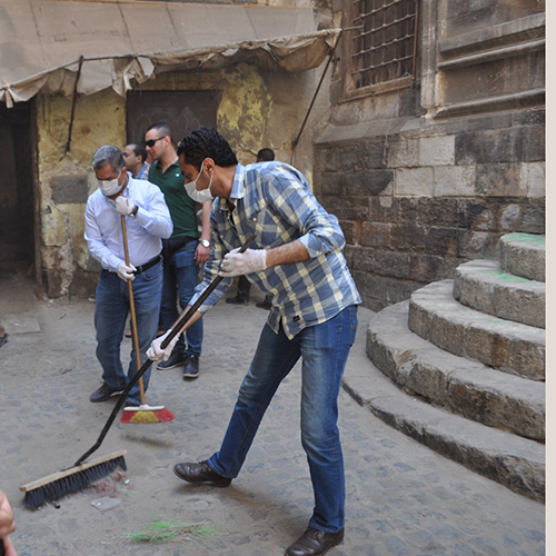 El-Damaty and Abdel-Aziz cleaning