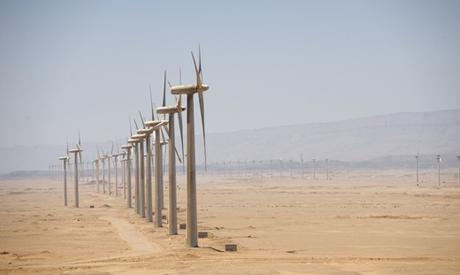 Power-generating windmill turbines