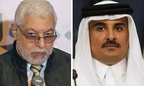 Mahmoud Hussein and Tamim bin Hamad
