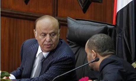 Yemeni President Abd Rabbu Mansour Hadi