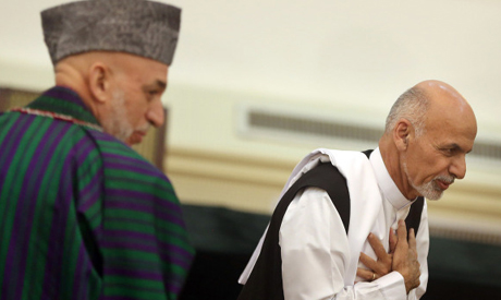 Ghani wins Afghan presidential election, signs deal with