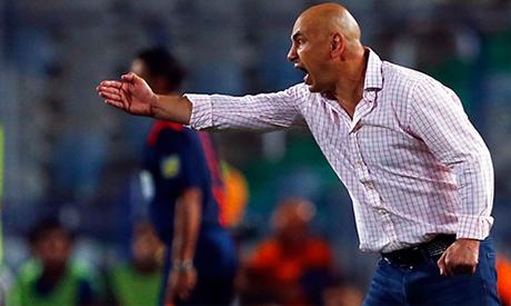 Zamalek coach Hossam Hassan