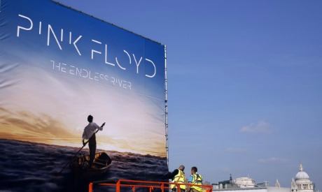 Egyptian artist designs album cover for Pink Floyd - Music