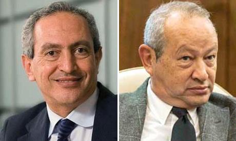 Nassef and Naguib Sawiris
