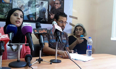A family member of a detained activist on hunger strike