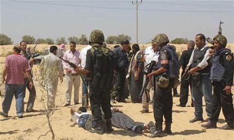 Sinai raids