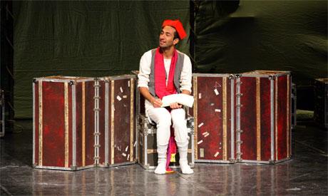 Naeem Hayat as Hamlet