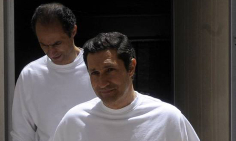 Gamal Mubarak and Alaa Mubarak (Reuters)