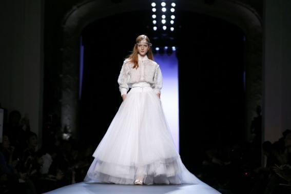 Gaultier collection / Paris Fashion week 2015 (Reuters)