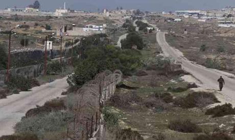 border between Egypt and Gaza