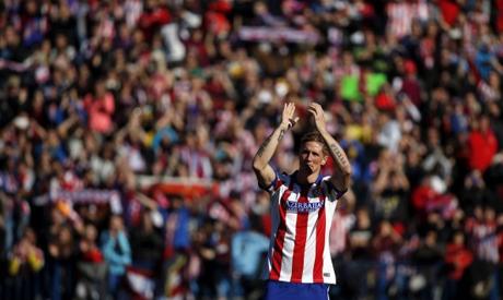 Spain forward Fernando Torres