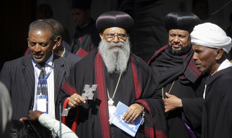 The Patriarch of the Ethiopian Orthodox Tewahedo Church Abune Mathias I