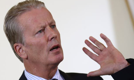 Austrian Vice Chancellor Reinhold Mitterlehner