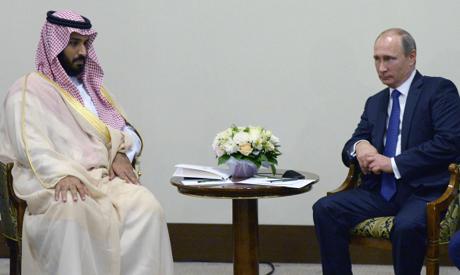Vladimir Putin, Mohammed bin Salman bin Abdulaziz Al Saud