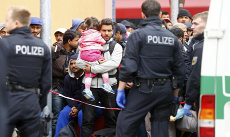 Germany Migrant Influx