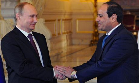 Abdel-Fattah El-Sisi Vladimir Putin