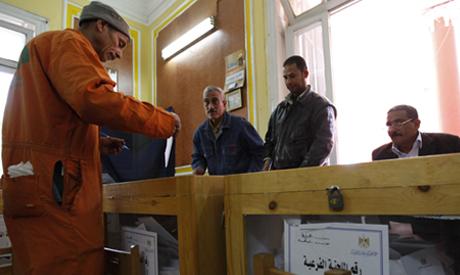 Egyptians cast their vote