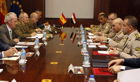 Egyptian-Spanish Defence Ministers