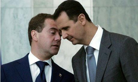 Assad, Medvedev