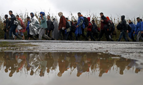 Migrants in Serbia