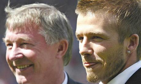 Alex Ferguson - David Beckham
