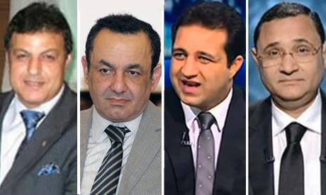 Sayed Gohar, Amr Shobaki, Ahmed Mortada Mansour and Abdel-Rehim Ali