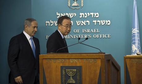 Netanyahu, Ban