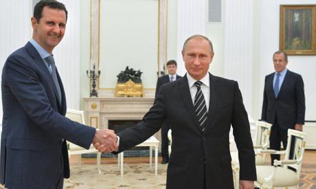 Al-Assad, Putin