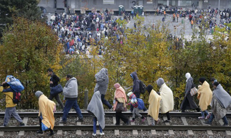 Slovenia Migrant Crisis