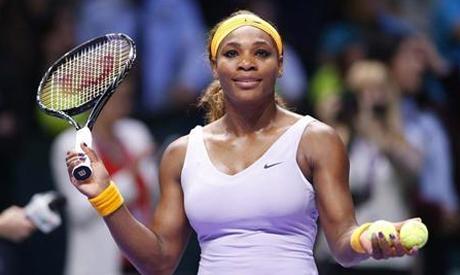 Serena Williams of the U.S