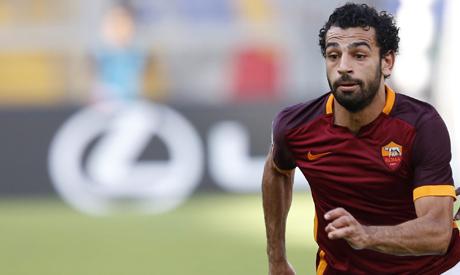 Roma's Mohamed Salah