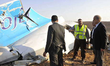 Russian crashed passenger jet