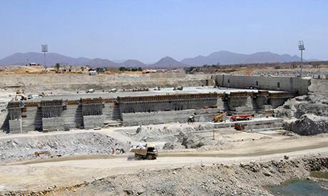 Rennaissance dam construction
