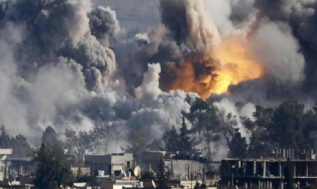 Russian Air Strikes in Syria
