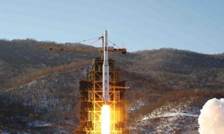 North Korea Rocket Lauch