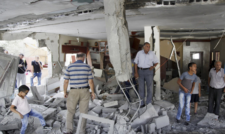 Israel demolish Palestinians