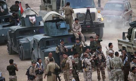 Kurdish troop