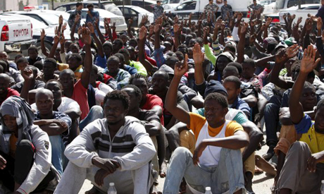 African Migrants Detained in Libya