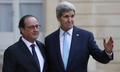 Hollande & Kerry
