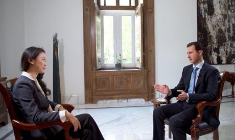 Assad China