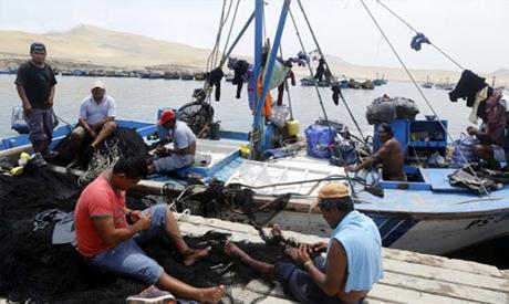 Egyptian fishermen