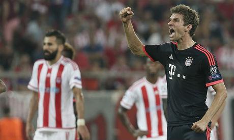 Bayern v Olympiakos