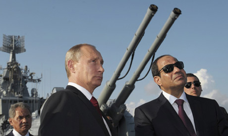 Putin and El-Sisi